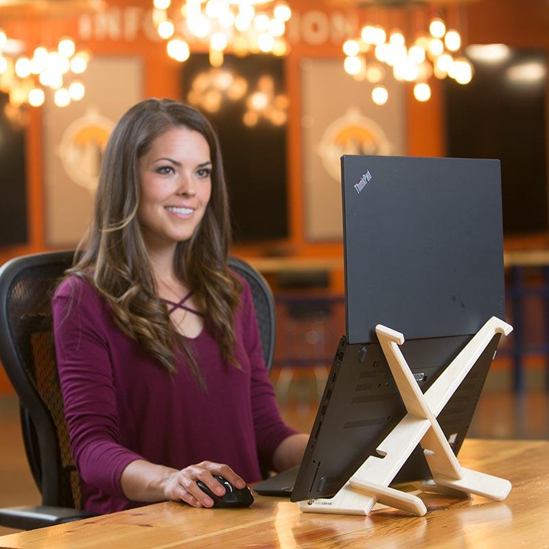 XenStand Vertical on Desk